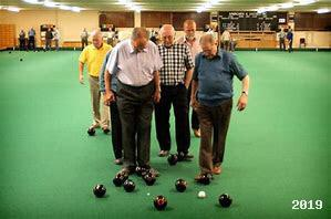 Indoor Bowling weekly and monthly